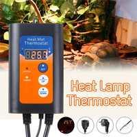Digital Heat Mat temperature Thermostat Controller 1000W 230V for Seed Germination EU Plug