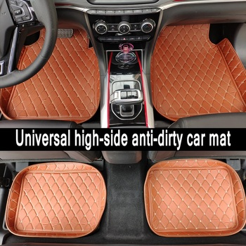 ZHAOYANHUA Universal car floor mats car fit LHD and RHD All Models BMW 7 series F01 F02 730i 740i 750i 760i 730d 740d 750d 730 image