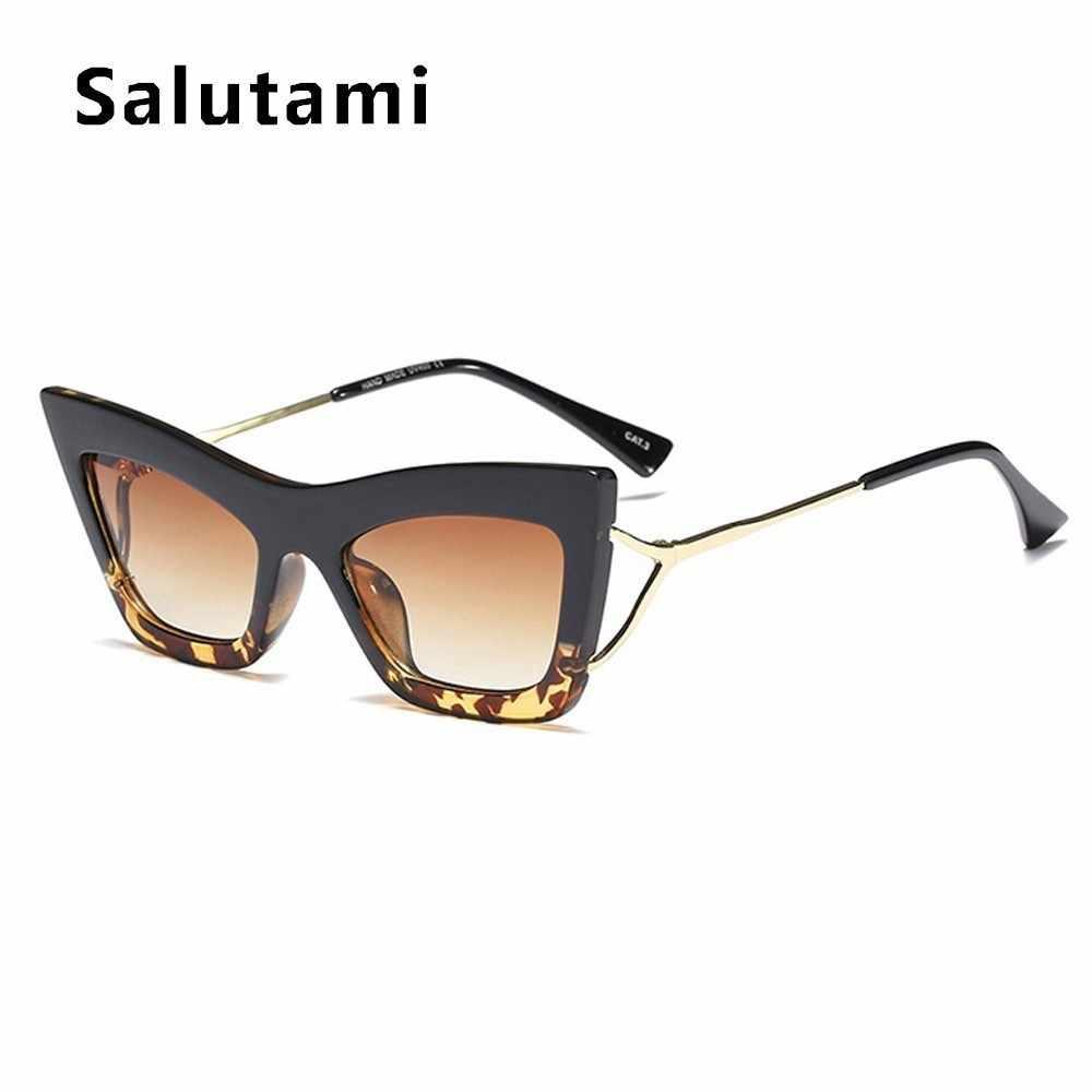 Черные солнцезащитные очки Wom2019 Новые Модные металлические винтажные Квадратные Солнцезащитные очки женские градиентные Оттенки Uv400 полые ноги Oculos