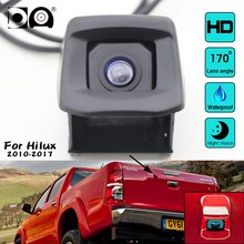 Car Rear Camera for Toyota HILUX 2010-2017 Original Reverse Hole Rear View Back Up WaterProof CCD Night Vision View Car Camera цены онлайн