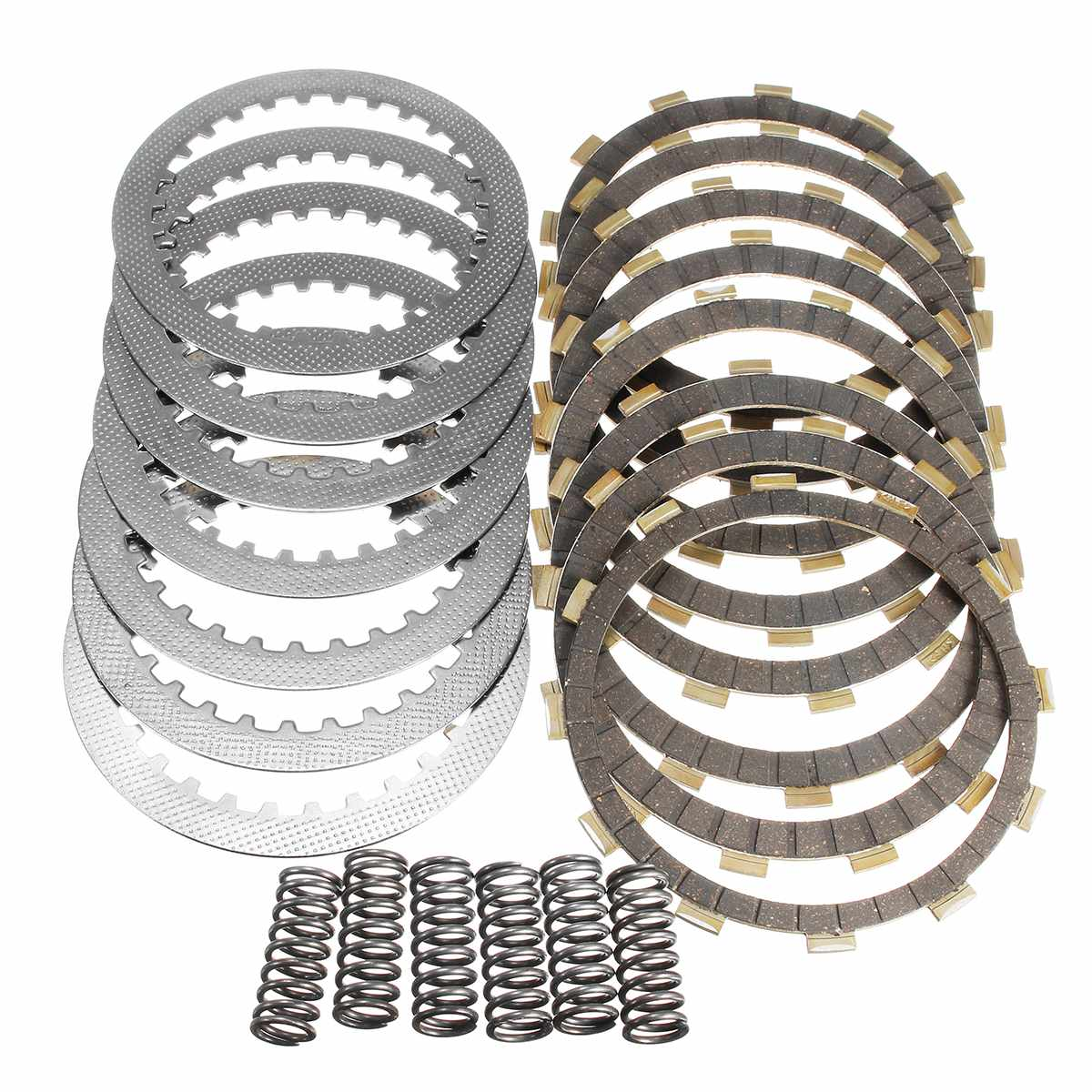 Clutch Kit With Heavy Duty Springs Plates For Honda For TRX 450 R TRX450 2004-2009 Metal Motorcycle Friction Plates Spring