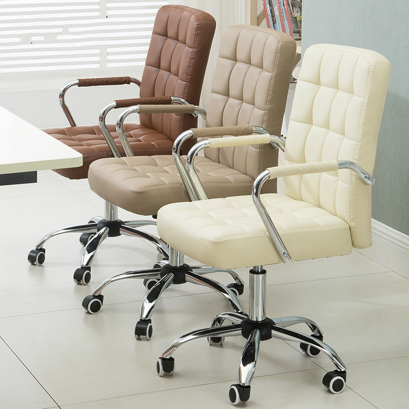 Simple Style Office Chair Conference Seat Lifted Rotation Staff Stool Household Dormitory Bow Chair Fashion Steady Stool