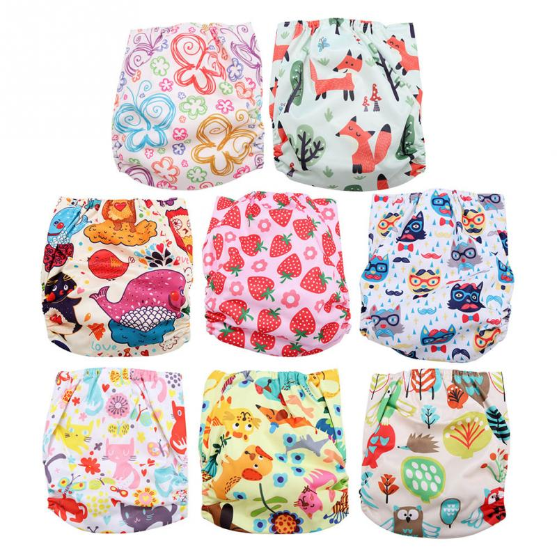 Reusable Baby Infant Swim Nappies Diaper Newborn Swimwear Bathing Suit Washable Pocket Cloth Size Adjustable Hook Loop Operating System BL002