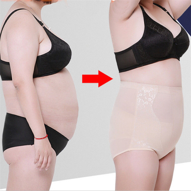 ca4ca9f11e7e0 Plus Size Women Body Shaper Control Slim Underwear Tummy Corset High Waist  Shapewear Panty Underwear Postpartum Repair Hip 3-5XL