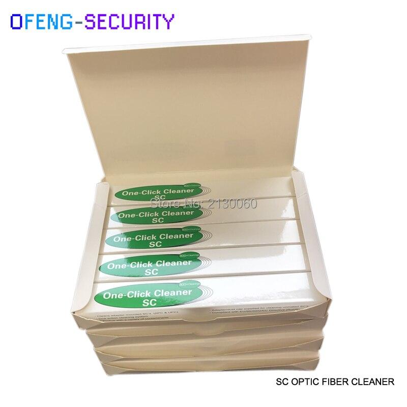 20Pcs Free Shipping SC/ST/FC Fiber Optic Cleaning Pen 2.5mm One Click Fiber Optic Cleaner Pen