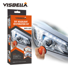 цена на VISBELLA Headlamp Polishing Paste Kit DIY Headlight Hestoration System for Car Care Repair Hand Tool Sets Lamp Lense  by Manual