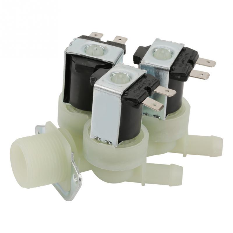 Ventil Wasser Einlass N/c Normale Geschlossen Elektrische Magnetventil Ac 220 V G3/4 NüTzlich FüR äTherisches Medulla Sanitär 3 Weg
