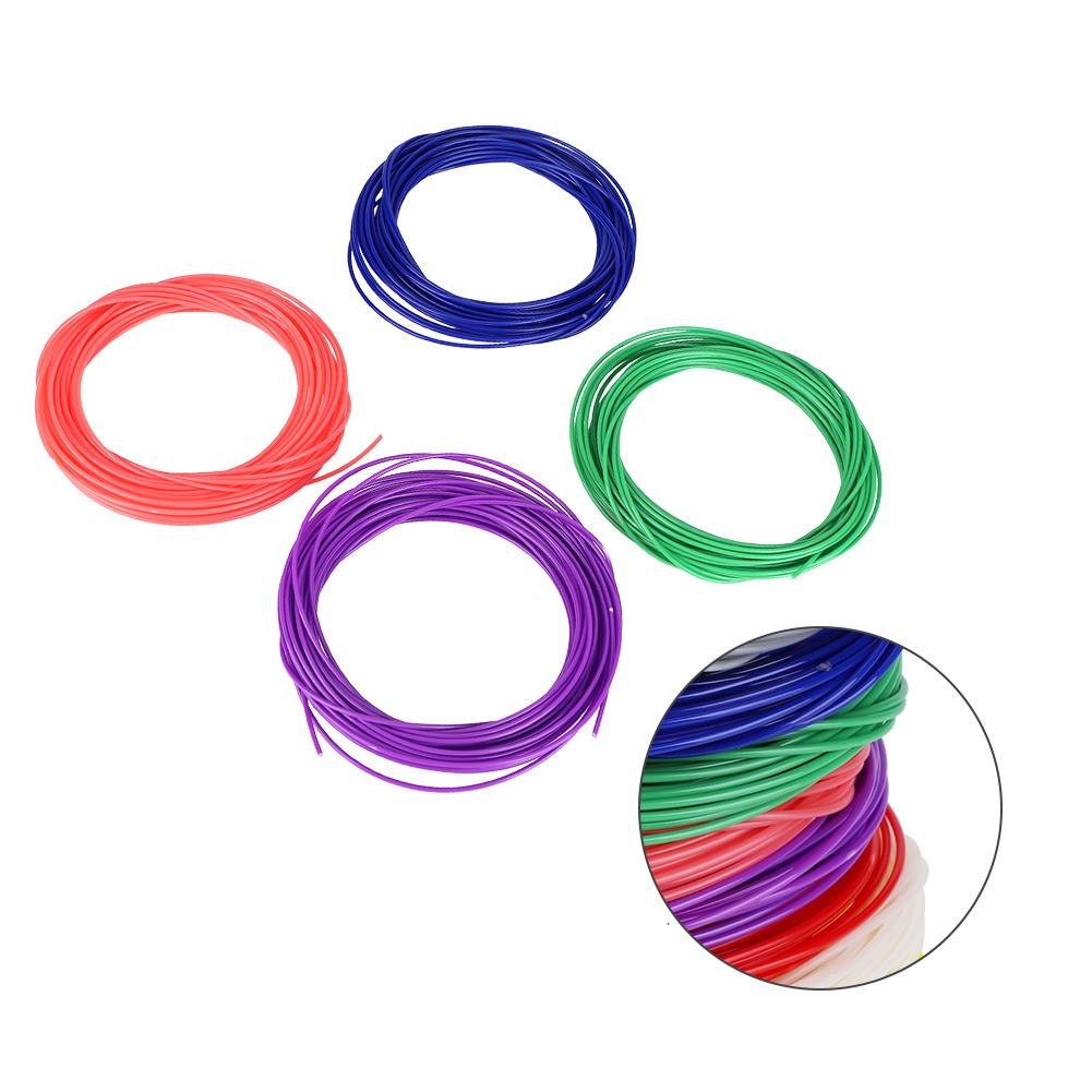 1.75mm ABS Filament Verbruiksartikelen 10 M * 10 Kleuren voor 3D Printing Pen Printer gemaakt van superieure ABS materiaal