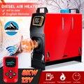 Все в одном 8000 Вт подогреватель воздуха 8 кВт 12 в одно отверстие автомобильный нагреватель для грузовиков мотор-дома лодки Автобус + ЖК-ключ ...
