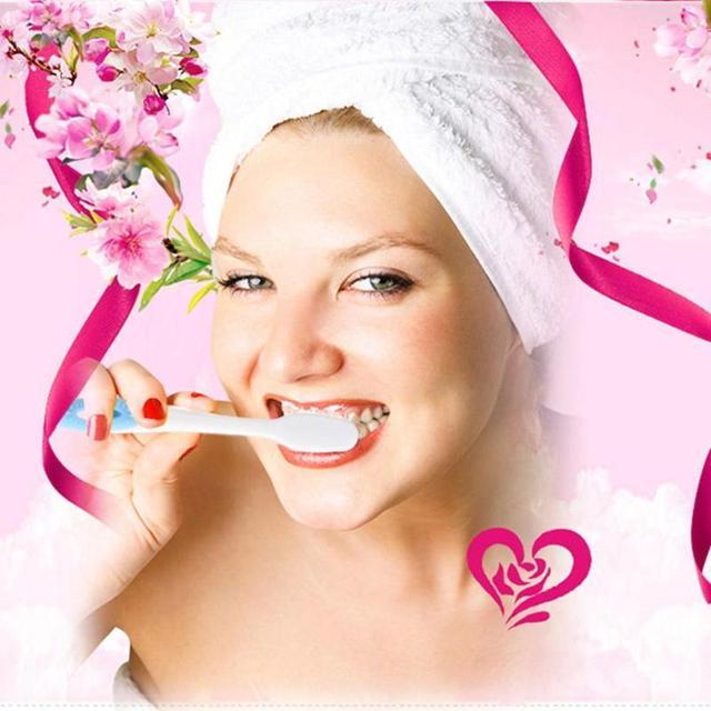 1/5 piezas doble Ultra cepillo de dientes suave Nano cepillo de dientes Cuidado Oral cepillo de dientes Dental limpieza cepillos de dientes para adultos