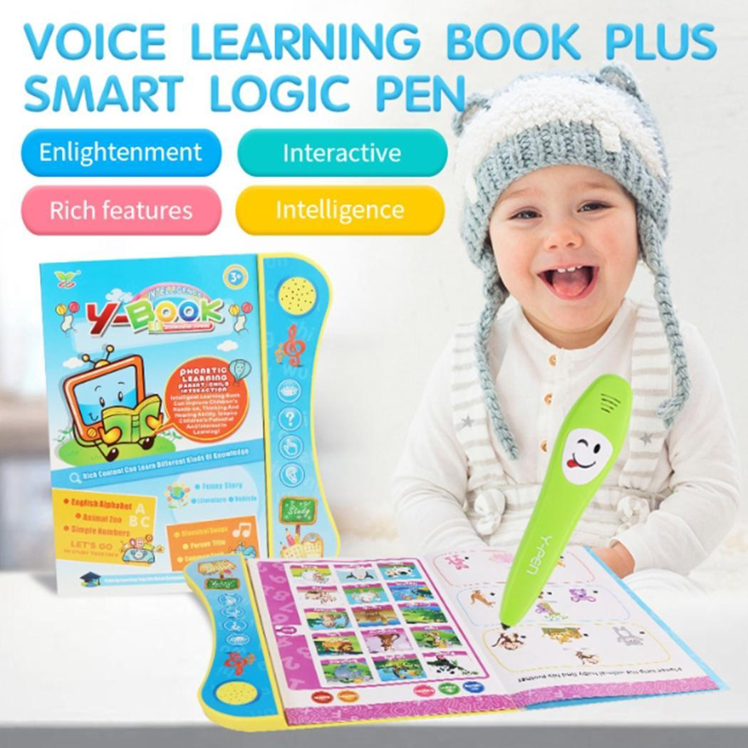 Children English Electronic Reading Machine Voice 3+ years old Learning Electric Book Educational Toys