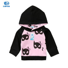 CANIS Winter Autumn Cartoon Baby Girl Toddler Kids Girls Long Sleeve Unicorn Jacket Coat Hooded Outerwear Hoodies Sweatshirt Top(China)