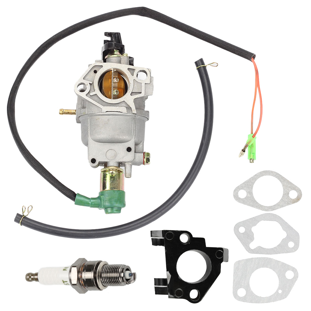 Carburetor Solenoid Adapter Gasket Kit For Honda GX340 GX390 188F 11HP 13HP 16100 Z5L F11 Generator Engine Motor