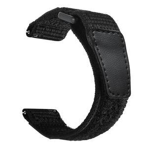 Image 3 - 22mm 매직 루프백 나일론 시계 스트랩 시계 화웨이 나일론 스트랩 화웨이 시계 gt 패션 가볍고 착용하기 쉬운 새로운