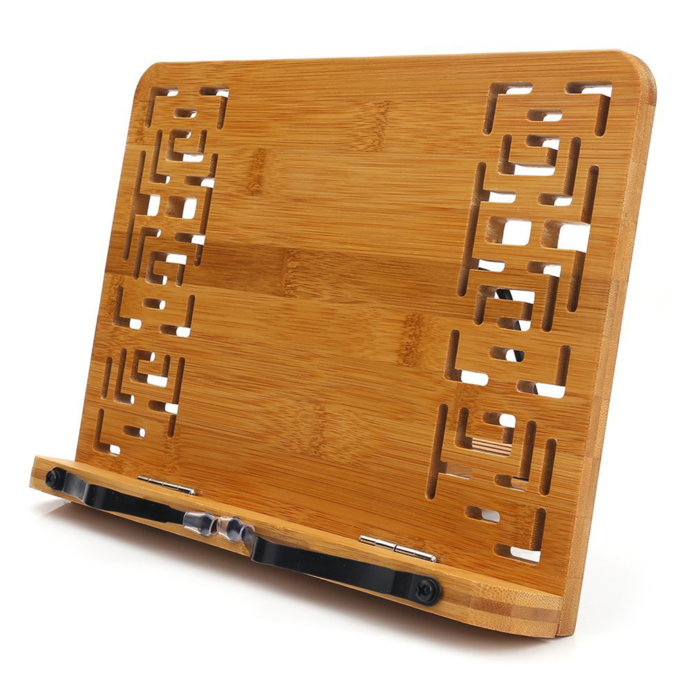 Faltbare Tablet Pc Lehrbuch/musik Dokument Stand/schreibtisch Bookrest Mit Retro Hohl Elegante Muster