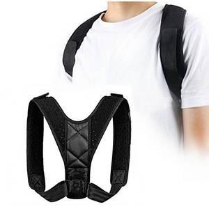 Black Adjustable Upper Back Be