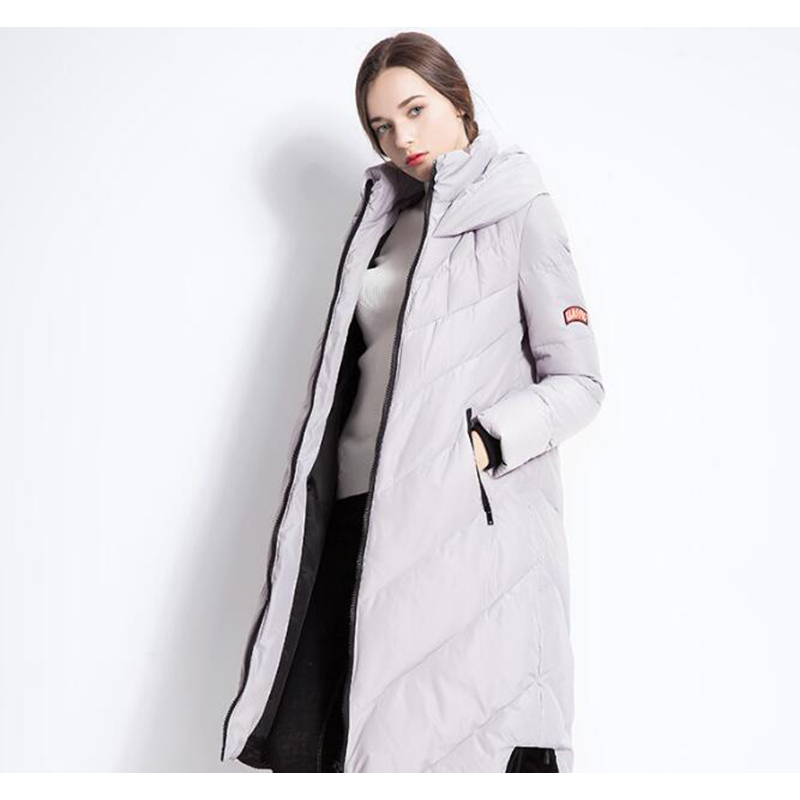 Down     Coat   Female Winter jacket women women's long pudder   coat     down   jackets Clear inventory regardless of cost