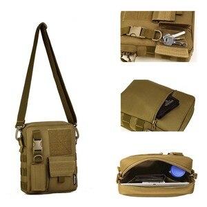 Image 3 - Sac à dos tactique pour hommes, sacoche militaire Camo imperméable pour Sports de plein air voyage, sac à main sec de chasse