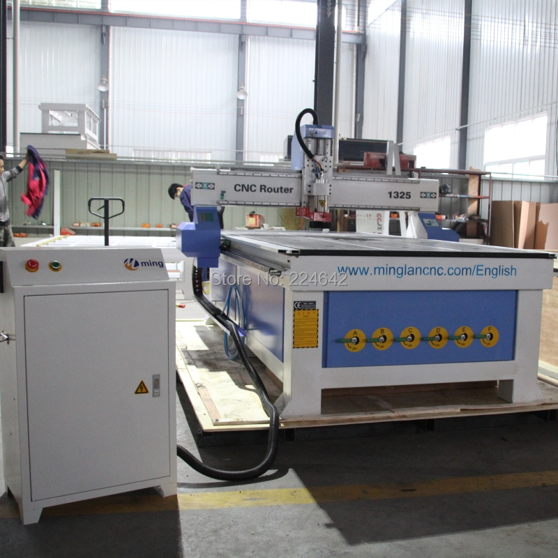 1325 3 axis cnc router 1325 cnc engraving machine 3d wood craving machine 1300*2500mm with water cooling spindle