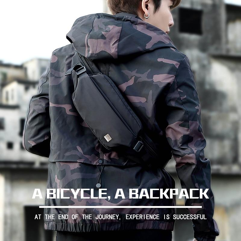 PISU waist bag for men fashion waist pack purse phone belt bag travel waist bag case for mobile phone bum hip bag