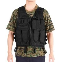 Portable Multifunction Outdoor Clothing Hunting Vest 800D Oxford Fabric Adjustable Molle Equipment for Outdoor Mission Hunting