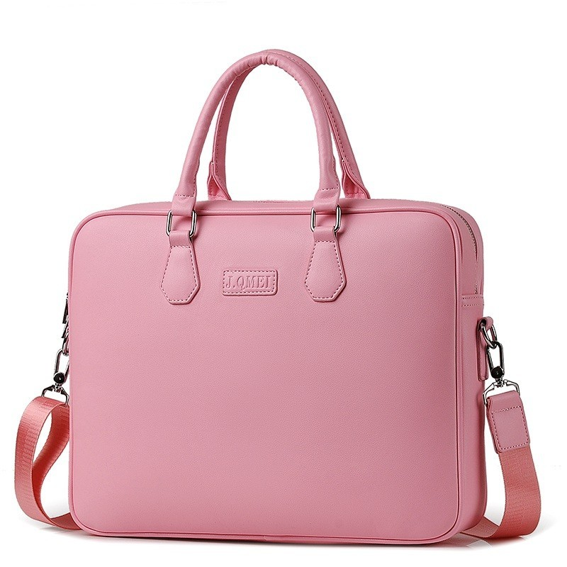 2019 Fashion Newest Women Handbag Laptop Briefcase Men Bag 14 15 Inch Case For Macbook Notebook Air Pro Shoulder Bags Maletas