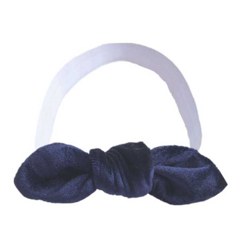 Baby Toddler Girls Kids Bunny Rabbit Bow Knot Turban Headband Hair Band Headwrap Cute