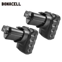 Bonacell 12V 6000mAh Rechargeable Li-ion Battery for Ridgid R82059 AC82059 AC82049 130220001 L10