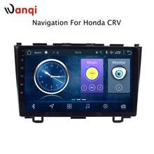9 дюймов Заводская android 8,1 Автомобильный dvd плеер для Honda CRV 2007-2011 с аудио радио мультимедиа gps навигационная система