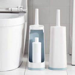 Łazienka miękka szczotka do wc bez martwego kąta szczotka do czyszczenia długa rączka łazienka Home do rogu zestaw szczotek do czyszczenia w Szczotki do czyszczenia od Dom i ogród na