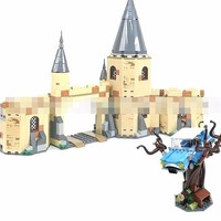 New Plastic Block Bole 11005 Harley Baud Series Hogwarts City Gate And Strike Willow With Fund Assembling Toys 789pcs