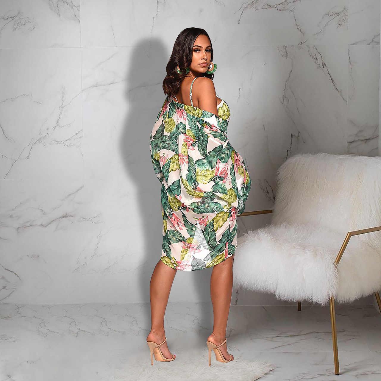Tobinoone 2019, Модный женский комплект из двух предметов, летняя одежда с цветочным рисунком, топы с открытыми плечами, бандажные пляжные шорты, Женский комплект из 3 предметов