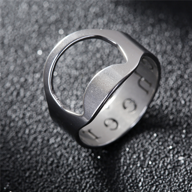 50pcs Stainless steel Beer Bottle Opener Unique Creative Versatile finger openers for Wedding Party Favors Gifts Festivel in Openers from Home Garden