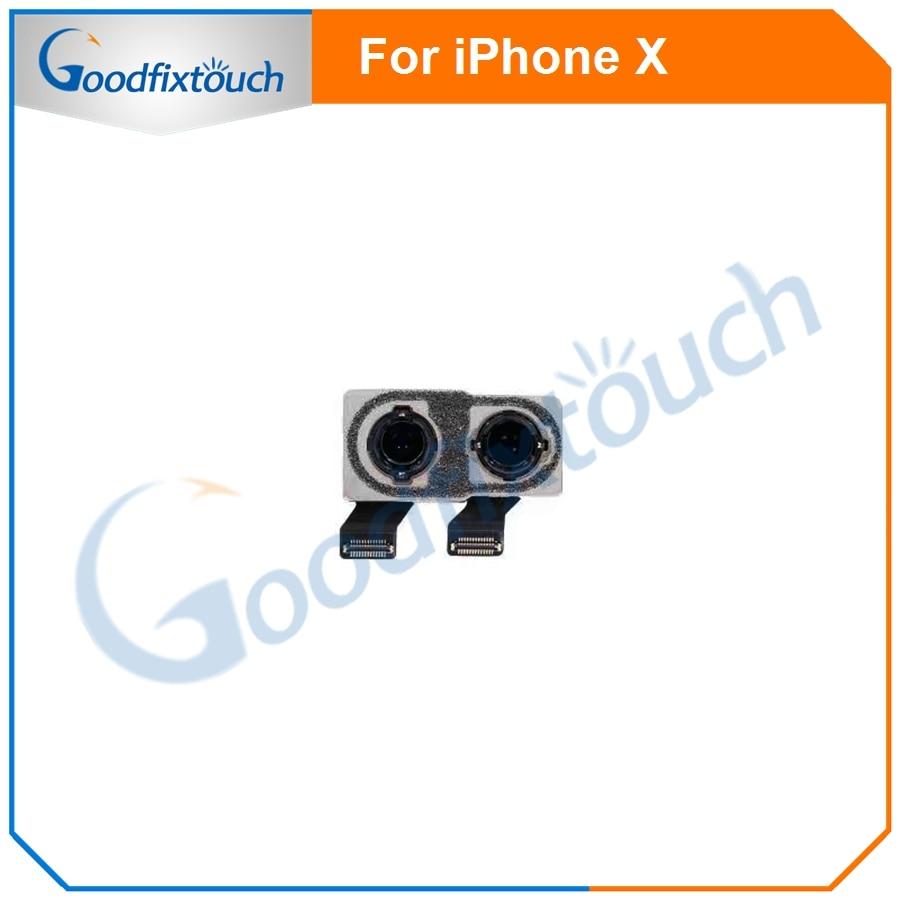 Для iPhone X модули камеры мобильного телефона гибкий кабель задняя большая камера задняя камера для iPhone X гибкий кабель, сменные детали