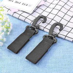 Stroller Hooks Clip-Stroller-Accessories Carriage Bag Wheelchair Hanger 2pcs/Set