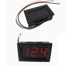 0.56inch Mini Digital Voltmeter Ammeter DC 100V 10A Voltmeter Current Meter Tester Blue+Red Dual LED Display