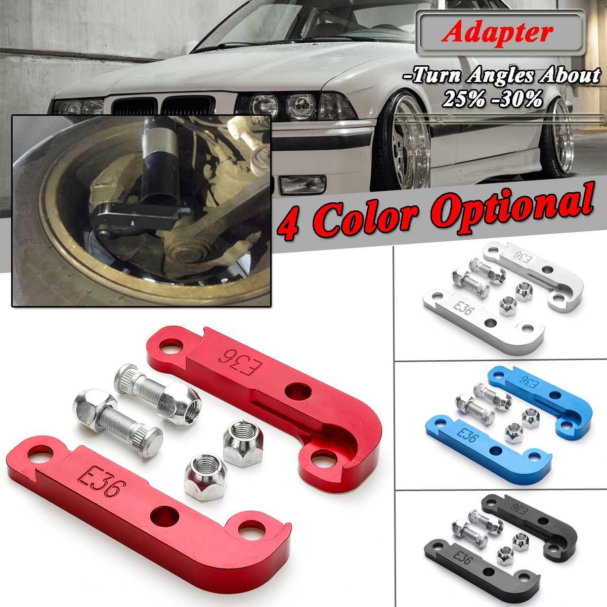 2x 4-Couleurs Adaptateur L'augmentation de Turn Angle Environ 25%-30% Dérive Serrure kit pour bmw E36 M3 Tuning Dérive Puissance adaptateurs et De Montage