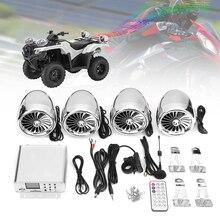 Mofaner Мотоцикл ATV Audio1000W 12 В ЖК bluetooth 4 колонки+ усилитель руль системы мотоцикл/ATV