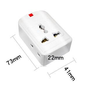 Image 1 - Us/Eu/Uk/Au/Cn Plug 10A 250V Power Strip Elektrische Universele Extension Socket Wireable adapter Voor Office Home Netwerk Filter