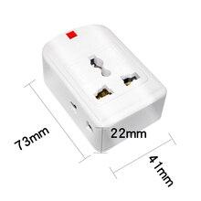 Wtyczka US/EU/UK/AU/CN 10A 250V listwa zasilająca elektryczny uniwersalny przedłużacz gniazdo Wireable Adapter do domowego filtra sieciowego