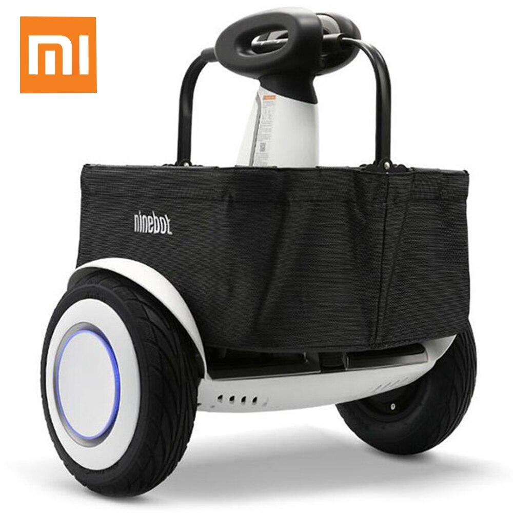 Panier de transport Original Xiaomi Mijia Ninebot pour Scooter d'équilibre Plus 30L 15 kg capacité de transport sacs à provisions