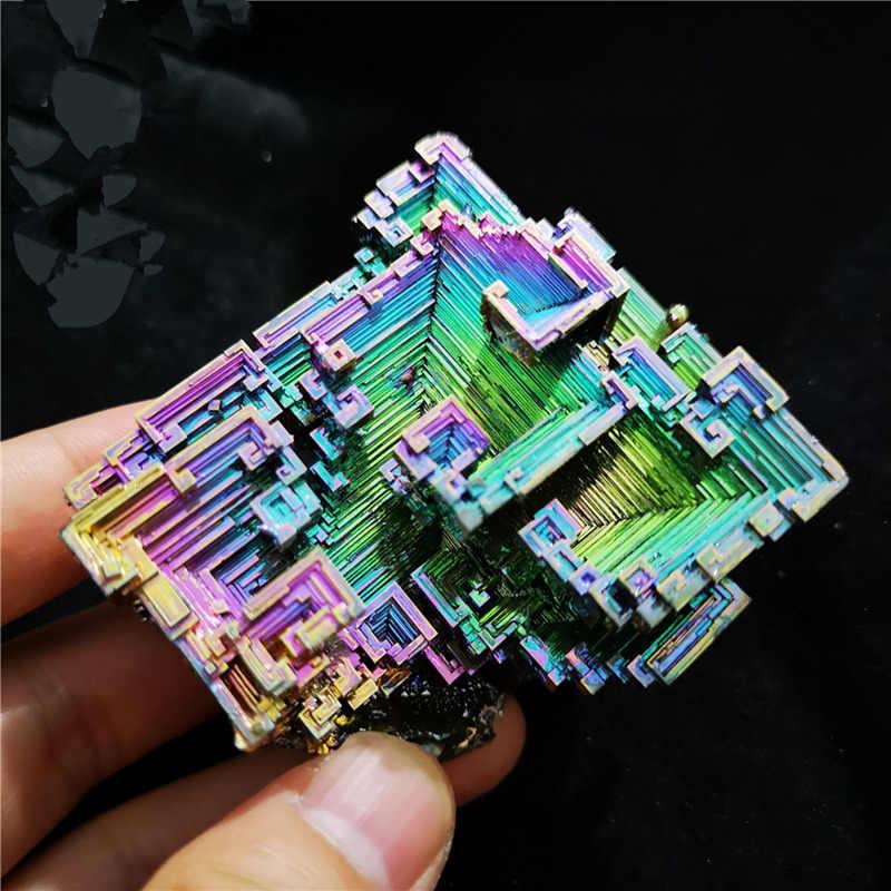 10-20 г висмута 100% натуральный камень украшения висмутовый металл с украшением в виде кристаллов красивых природных сурьмы образца для авторская коллекция D1