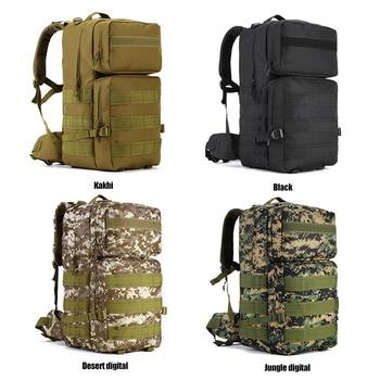 Nuevo 55L camuflaje hombres al aire libre caliente deporte brazo Mochila escalada 2019 Militar multifuncional bolsa Mochila táctica viaje