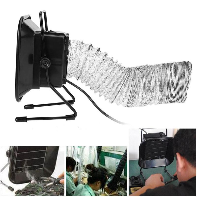Welding Equipment New Professional Solder Iron Smoke Absorber Fume Extractor Air Filter Smoke Fan Tool Welding Provement Instrument Tool 30w 493