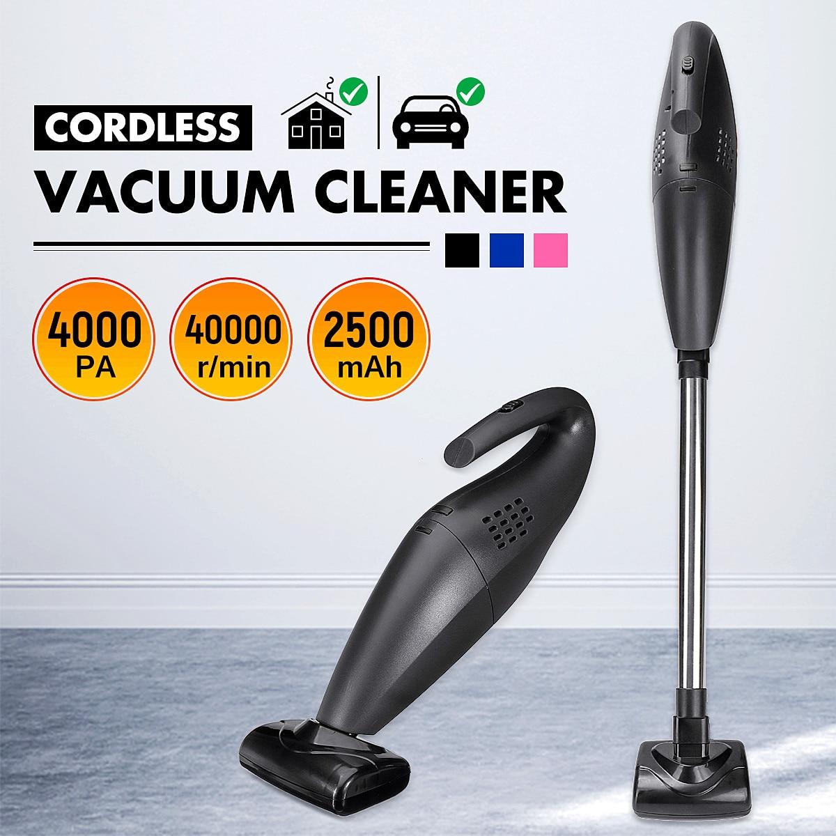 10 шт./компл. 120 Вт ручной беспроводной пылесос для дома, автомобиля, мокрого и сухого двойного назначения, высокая мощность, инструмент для оч