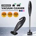 10 шт./компл. 120 Вт ручной беспроводной пылесос для дома  автомобиля  мокрого и сухого двойного назначения  высокая мощность  инструмент для оч...