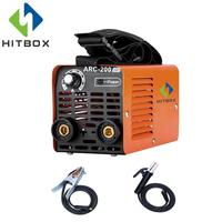 HITBOX Arc Welder MMA Stick ARC 200 Home Use Arc Welding Machine 3.2/4.0mm Rods Single Phase 220V Beginner's Choice