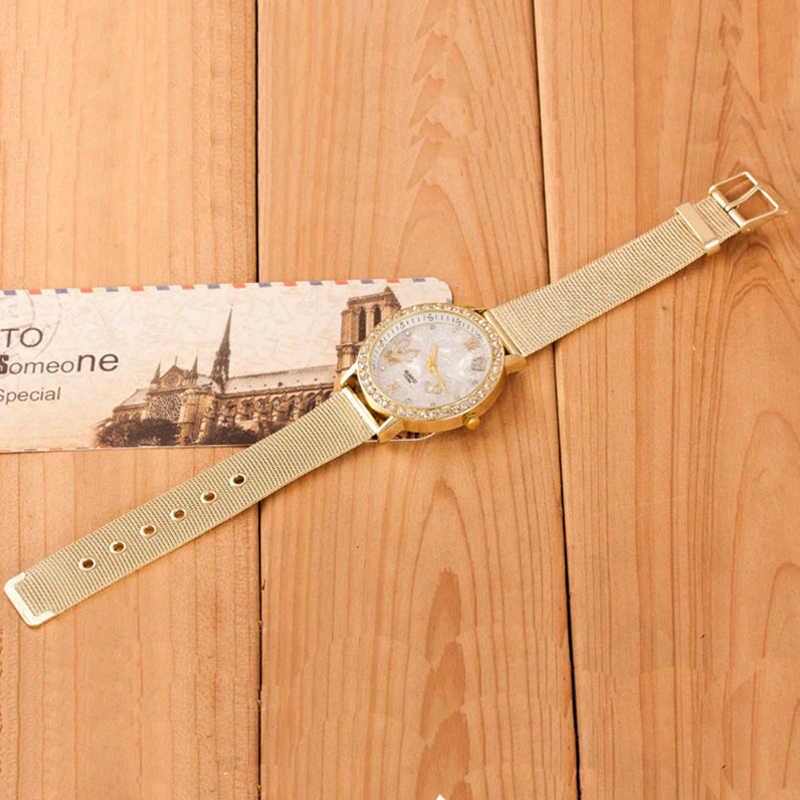 Relojes de pulsera de diamantes de imitación para mujer