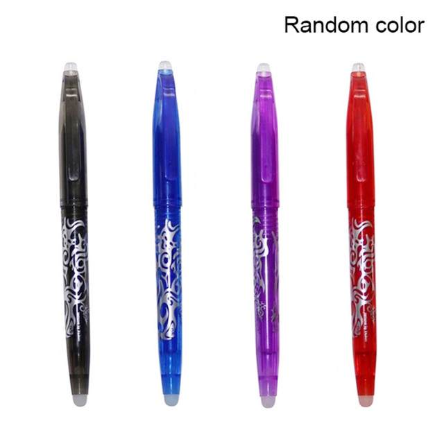 Erasable Pen Colorful Magical Writing Gel Pen Student Stationery Writing Pen Multifunction Pen 0.7mm Tip Writ