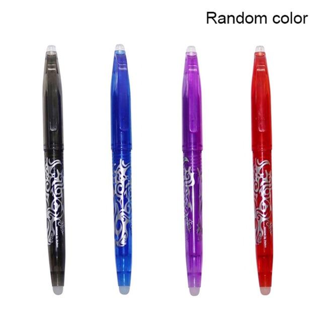 Pluma borrable colorido mágico escritura Gel pluma estudiante papelería escritura pluma multifunción 0,7mm punta Writ